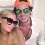 Paris Hilton e Alvarinho juntos em Ibiza