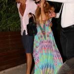 Paris Hilton e Alvaro Garnero filho