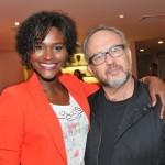 Carmelita Mendes e Bob Wolferson