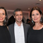 Melissa Oliveira, Romeu Trussardi e Renata Kowarick
