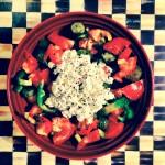 Receita do Dia: Salada Grega