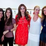 Daniela Carvalho, Gabriela Carvalho Adriana Caruso, Patricia Lunardelli e Flavia Mezzavila