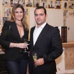 Gabriela Saad e André Azem
