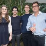Luna Fiorentino, Thales Castanheira,Thiago Fiorentino e Robson Rodrigues