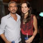 Sandro Akel e Luciana Figaro
