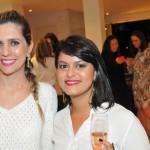 Ana Paula Fernandes e Luana Stuart Veloso