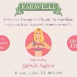 Cristiana Arcangeli apresenta BeautyJuice no lançamento do Menu Karavelle by Gabriela Pugliesi