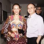 Beth Santos e Francisco Mendes
