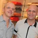 Enzo Sobocinzki e Ronaldo Morro