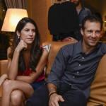 Joãoo Gaspar e Nathalia Bastos