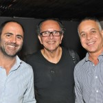 Kiko Salomão, David Bastos e Marco Aurelio Viterbo