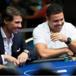 Ronaldo erra blefe, e Nadal vence duelo de pôquer em Londres