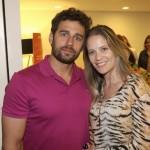 Eduardo Aga e Larissa Gobis