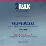 2Talk recebe Felipe Massa