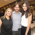 Andrea Pontes, Ayrton Moura e Larissa Dobes