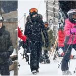 Madona é flagrada esquiando nos alpes suíços