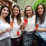 Fernanda Monteiro, Natasha Kayat, Priscila Muina e Julie Montgomery