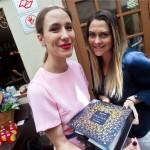 Paola de Orleans e Braganca e Luciana Bortman