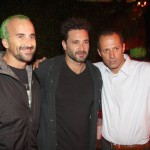Gui Padua, Rico Mansur e Henrique Pena