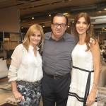 Noura Van Dijk, Haroldo Rodrigues e Adriana Giacometti