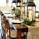 decoração mesa de Natal  (14)