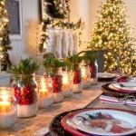 decoração mesa de Natal  (6)