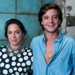 Pedro Rosman e Stephanie Wenk
