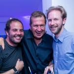 Xande Ostrowsky, Mario Testino e Jan Olesen