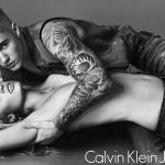 Justin Bieber para a Calvin Klein