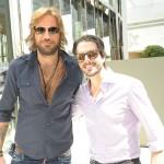 Mario Velloso e Kiko Sanchez