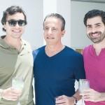 Raphael Vidigal, Fabio Aronis e Luiz de la Garza