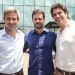 Daniel Ribeiro, Flavio Abreu e Mario Ferraz