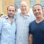 Roy Nasser, Jacques Glaz e Flavio Aronis