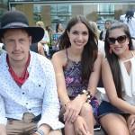 Yvan Fodic, Camila Neves e Mariana Davi Gomes