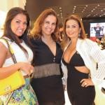 Camilla Terra, Eliane Cardo e Helena Paranhos