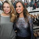 Luitha Miraglia  e Tatiana Flaith
