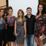 Tatiana Flaith, Fernanda Paes Leme, Patricia Bonaldi, Gustavo e Mariana Rosset