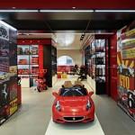 nova loja da ferrari em Milão 2