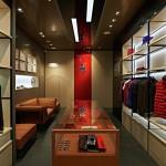 nova loja da ferrari em Milão 5