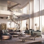 One Madison Double Height Living Room