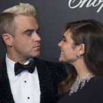 Robbie Williams e Ayda Field