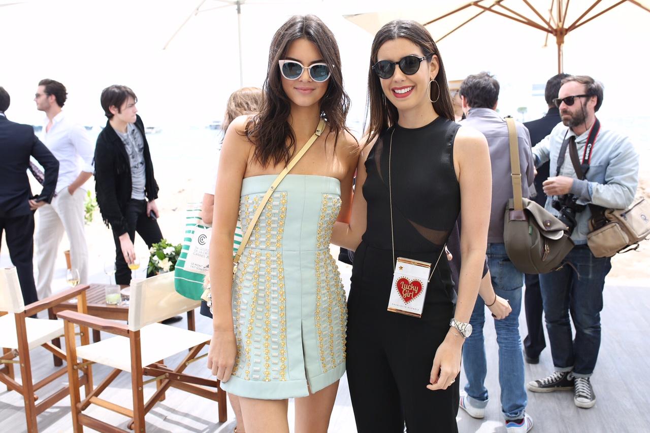 Camila Coutinho e Kendall Jenner