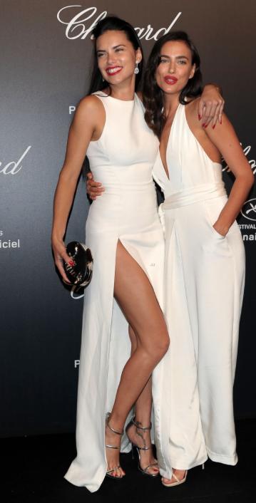 Adriana Lima e Irina Shayk