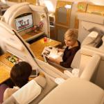 A nova primeira classe da Emirates