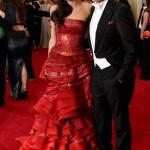 Amal, de John Galliano e George Clooney.