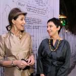 Cris Ferraz e Livia Pedreira