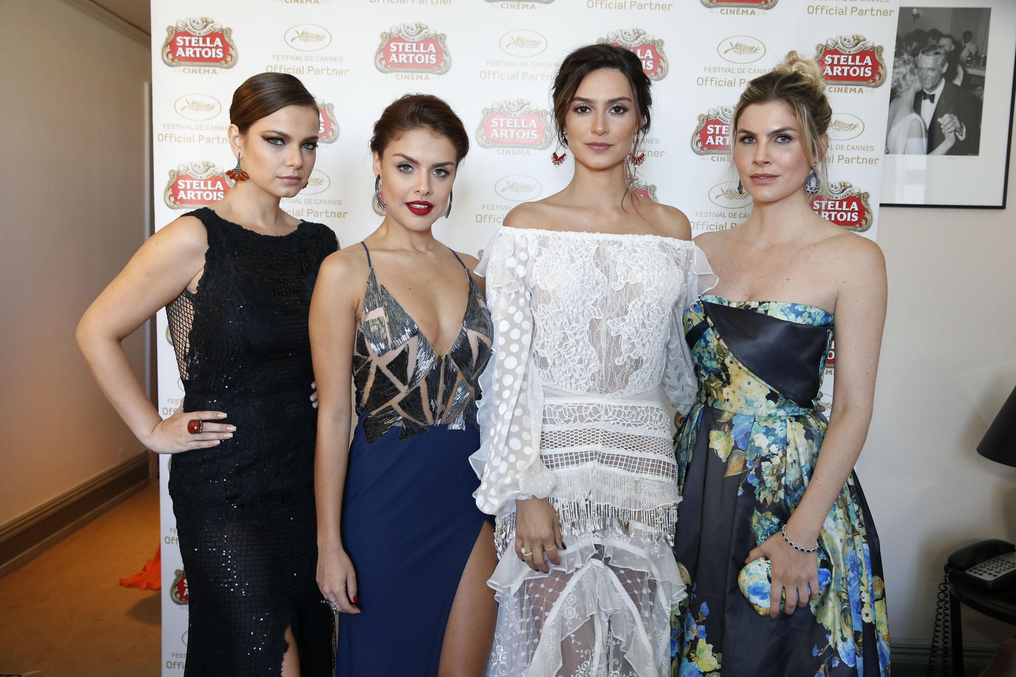 Milena Toscano, Paloma Bernardi, Thaila Ayala, Julia Faria