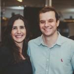 Patricia Ormiga e Sergio Serpa