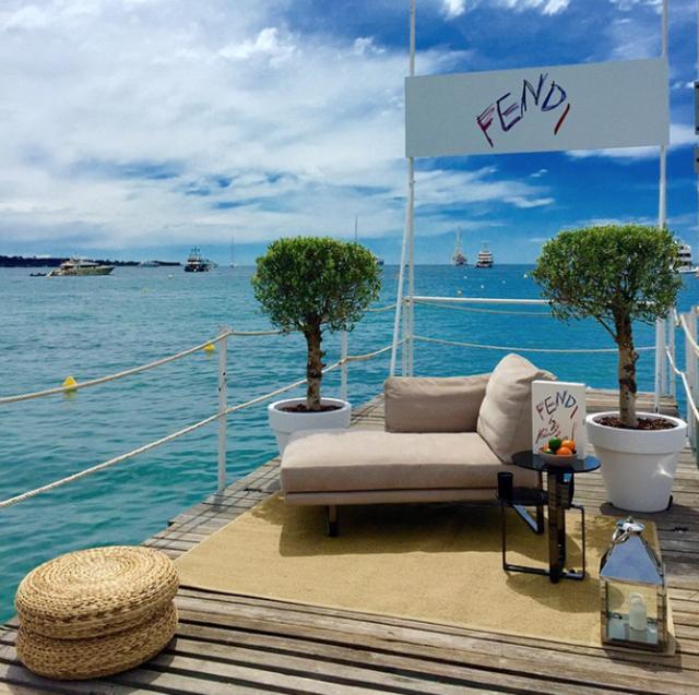 Almoço em Cannes