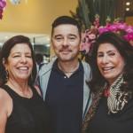 Maria Ercilia Leite de Castro, Carlos Tufvesson e Ana Maria Tornaghy